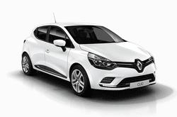 hire a Renault Clio in crete