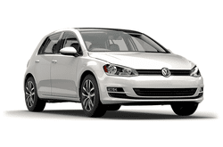 hire a Volkswagen Golf in crete