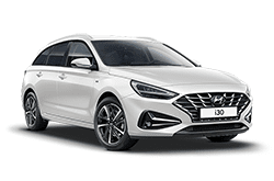 hire a Hyundai i30 Tourer in crete