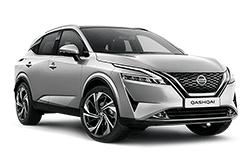 hire a Nissan Qashqai in crete