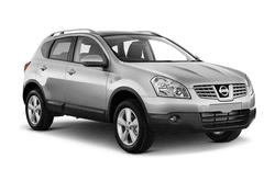 hire a Nissan Qashqai Auto in crete
