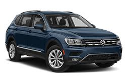 hire a Volkswagen Tiguan Auto in crete