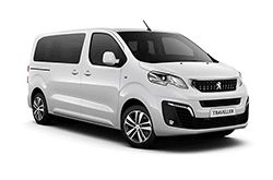 hire a Peugeot Traveller *9 Seats* in crete