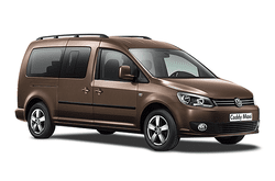 hire a Volkswagen Caddy Maxi Automatic in crete