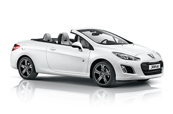 hire a Peugeot 308cc in crete