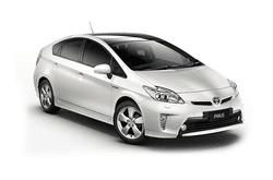 hire a Toyota Prius Hybrid in crete