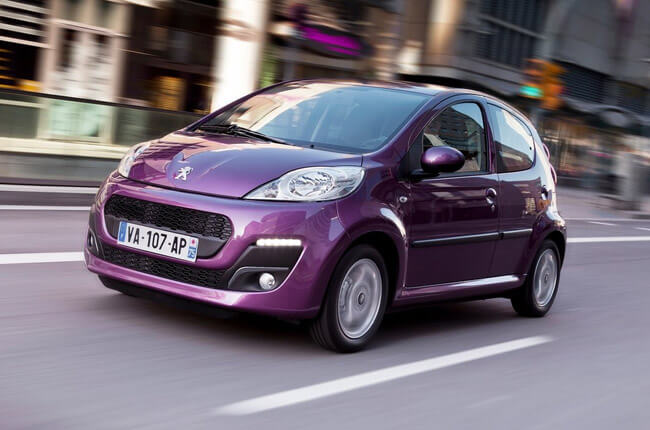 Peugeot 107 - Group A. Economy - Rental Center Crete