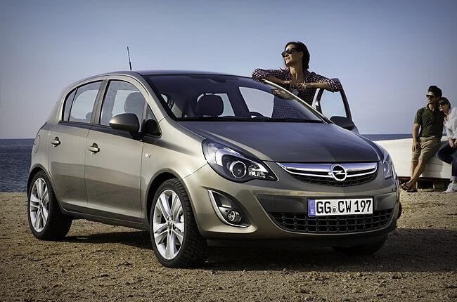 Opel Corsa @ Rental Center Crete
