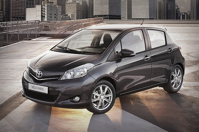 Toyota Yaris: rent now