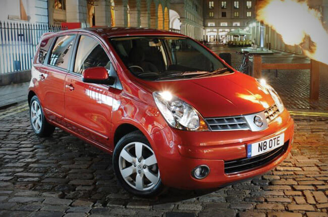 Nissan Note: rent now