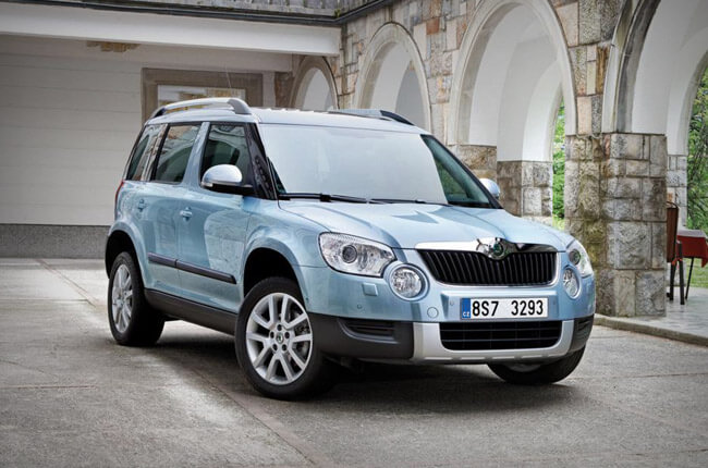 skoda yeti is the ideal rental car to explore crete