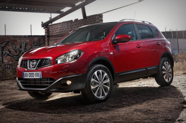 Book now a Nissan Qashqai rental car in Heraklion airport