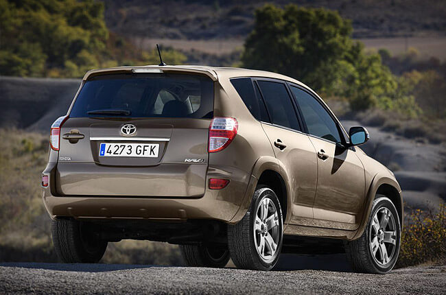 Toyota Rav4: rent now