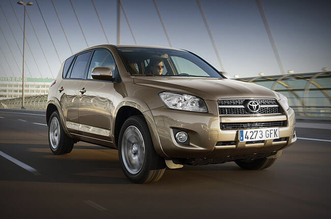 Book a Toyota RAV4 at Rental Center Crete