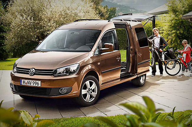 vw caddy maxi group h minibus rental center crete. Black Bedroom Furniture Sets. Home Design Ideas