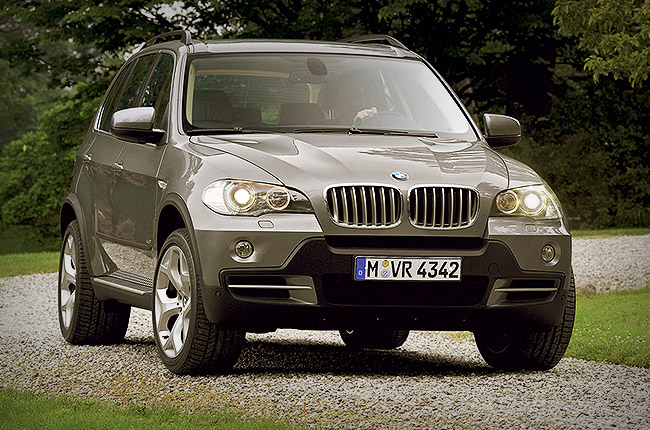 BMW X5: rent now