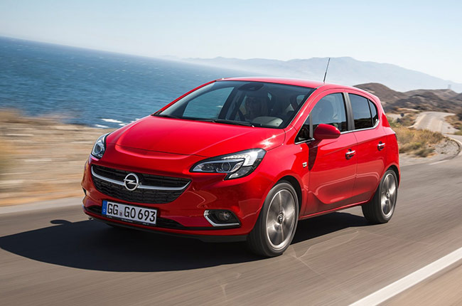 hire a Opel Corsa Automatic in crete