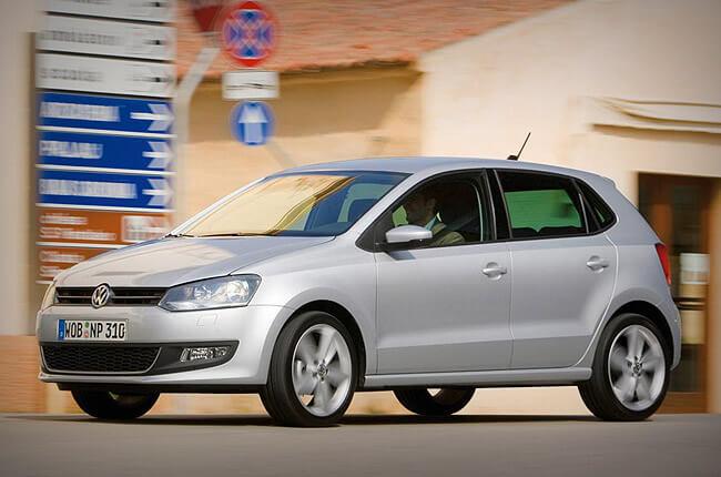 vw polo | private car rental in Crete with Rental Center Crete