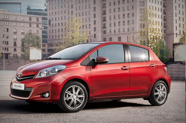 book a rental car like Toyota Yaris in Crete