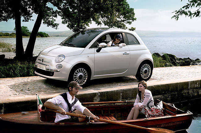 hire a Fiat 500 Automatic in crete