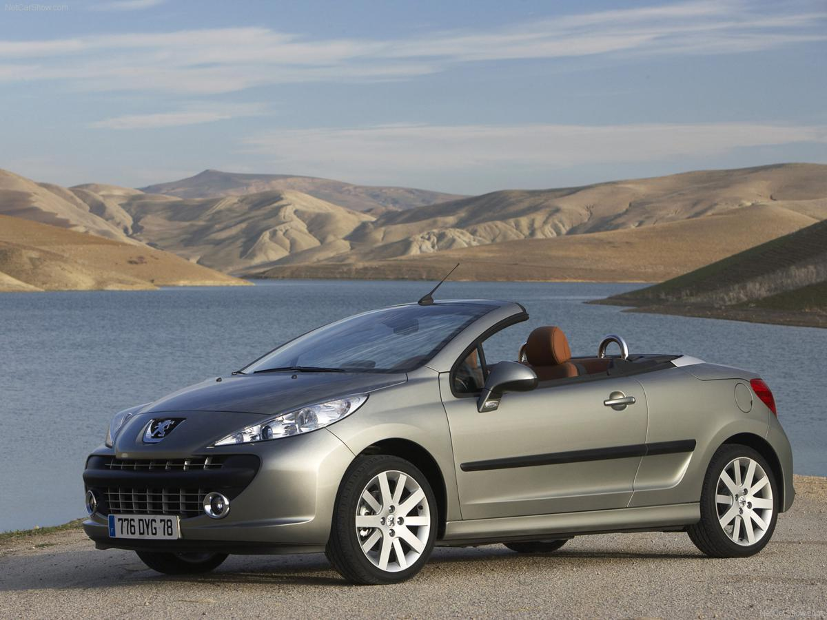 peugeot 207cc group l2 cabriolet rental center crete. Black Bedroom Furniture Sets. Home Design Ideas