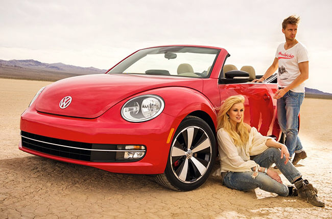 volkswagen beetle convertible - rent it in Crete