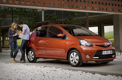 hire a Toyota Aygo in crete