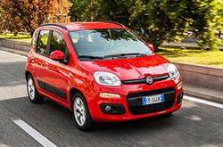 hire a Fiat Panda in crete