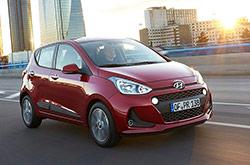 hire a Hyundai i10 in crete