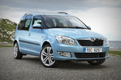 hire a Skoda Roomster in crete