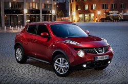hire a Nissan Juke in crete