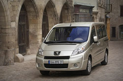 hire a Peugeot Expert *9 Seater* in crete