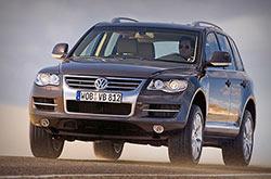 hire a Volkswagen Touareg in crete