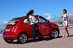 hire a Fiat 500 cc in crete