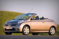 hire a Nissan Micra C+C in crete