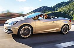 hire a Opel Cascada in crete