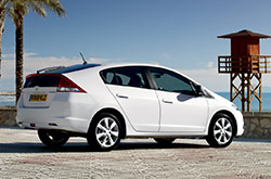hire a Honda Insight Hybrid in crete