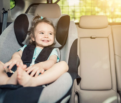 Free Baby seats Offer for all rentals