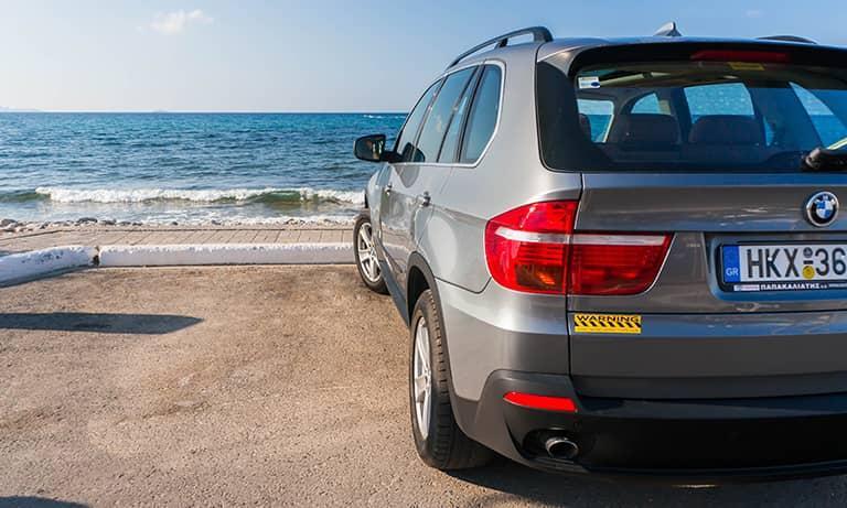 Location de voitures de luxe dans toute l'île de Crète