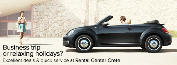 business travel in Crete with Rental Center Crete