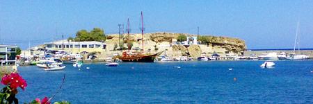 Agia Paraskevi Church - Where the beach road ends in Chersonissos