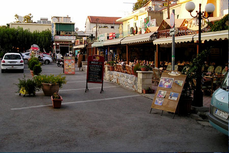 Central Square in Georgioupoli