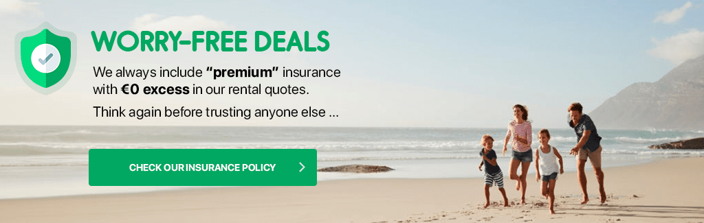 Worry free car hire with Full insurance in quotes