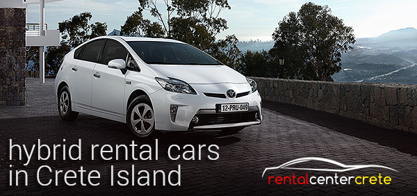 hybrid car rental in Crete with Rental Center Crete