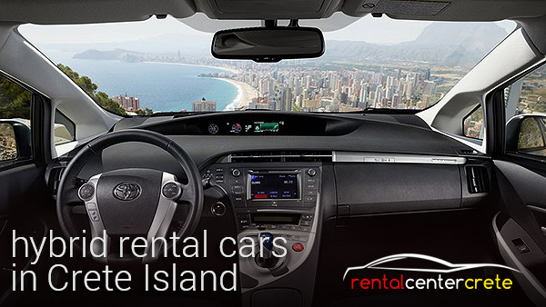 hybrid rental vehicles in Heraklion & Chania Crete
