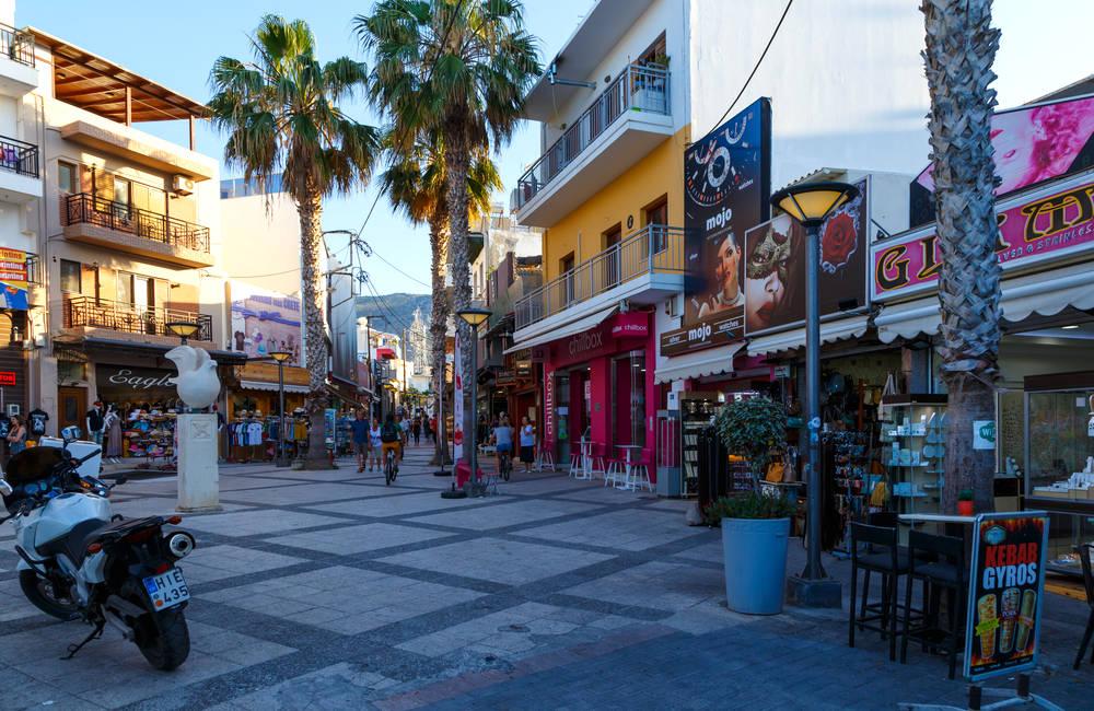 Chersonissos Straßenmarkt
