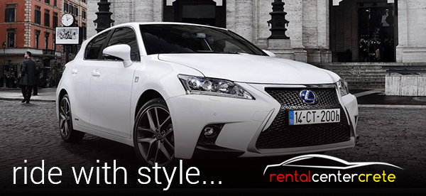 ride in style with Rental Center Crete