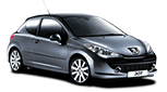 Peugeot 207 rent it now in Crete
