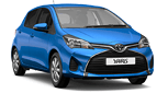 Toyota Yaris hire in Crete