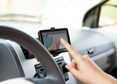 GPS Navigatore a Creta con Rental Center Crete